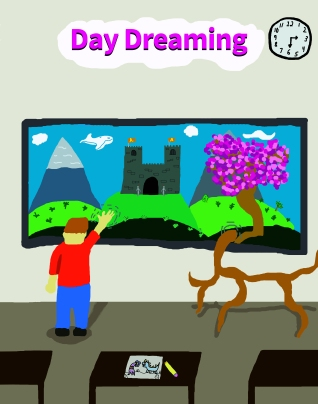 Javila Daydreaming Poster